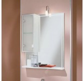 Альтаир 65 зеркало-шкаф левое 1A100002AR01L