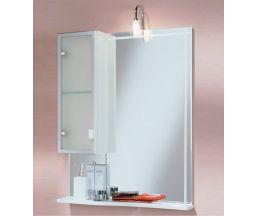 Альтаир 65 зеркало-шкаф +Quadra светильик 1A1000L1AR01L