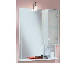 Альтаир 65 зеркало-шкаф +Quadra светильик 1A1000L1AR01R