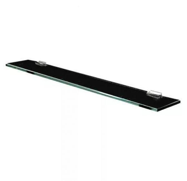 Полка стеклянная 100 черный глянец 1A121903TU950