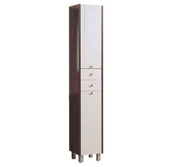 Альпина 65 шкаф-колонна с бельевой корзиной венге 1A133603AL500