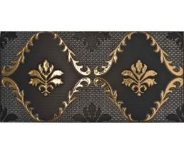 Decor.Lys Negro плитка керамическая, глазурованная, неполированная 25*50