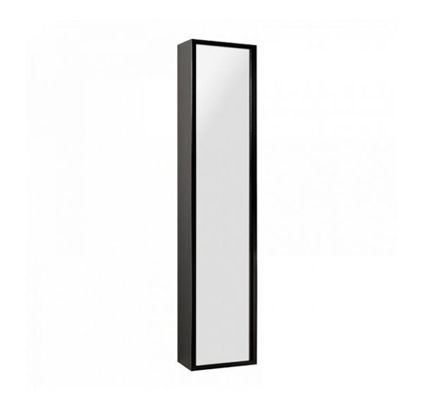 Римини шкаф-колонна подвесная черный глянец 1A134603RN950
