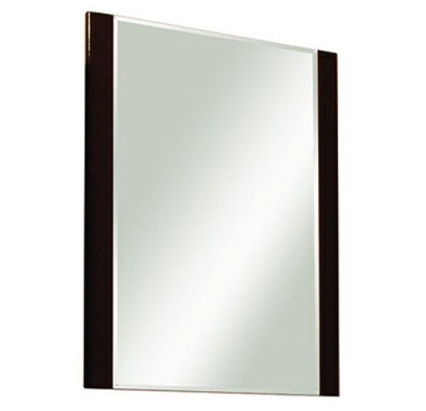 Ария 65 зеркало темно-корчневое с полкой 1A133702AA430