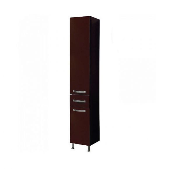 Ария  Н шкаф-колонна темно-коричневая 1A124303AA430