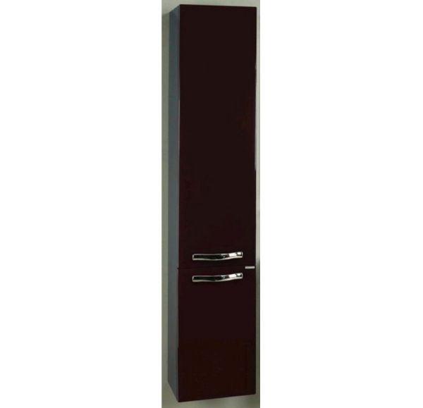 Ария М шкаф-колонна подвесная темно-коричневая 1A124403AA430