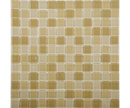 EP3100 мозаика стеклянная 300*300*4 микс коричневого