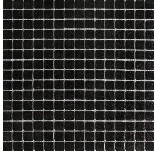 A50 мозаика стеклянная 327*327*4 черная