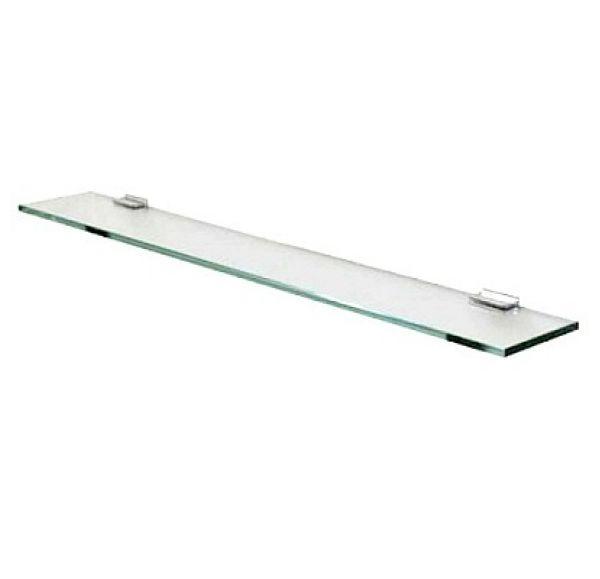Полка стеклянная 100 серебристая 1A121903TU780