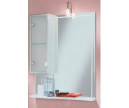Альтаир 65 зеркало-шкаф лев+свет SABRINA-3R хром 1A1000L1AR01L