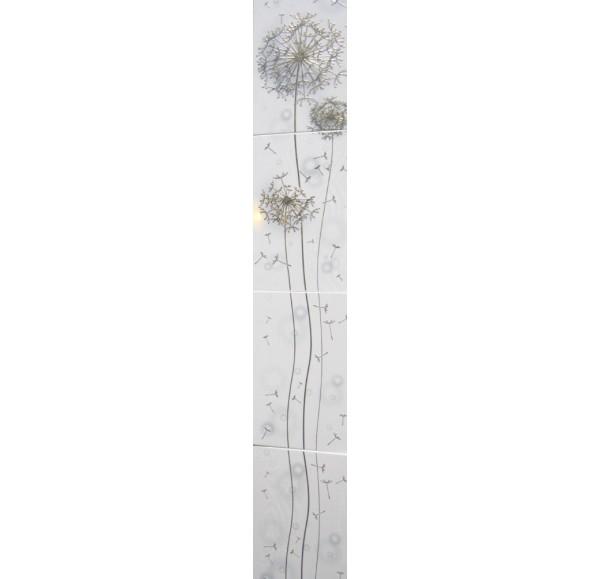 09889 Silk Oduvan пано белое W 27.5*1600
