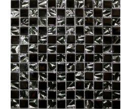 ELC01 мозаика стеклянная 300*300*6 микс металлик