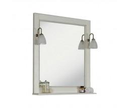 Жерона 85 зеркало белое серебро 1A158702GEM20+2 свет MAGALI