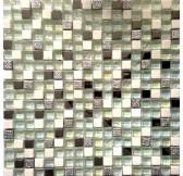 FG16 мозаика стеклянная 300*300*8 серые камни