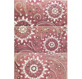 Conjunto Yasmin Lila 3PZ плитка керамическая 25*50