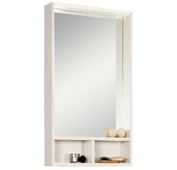 Йорк 50 зеркало-шкаф 1A170002YOAY0 белый/выбеленное дерево