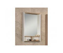 Йорк 55 зеркало-шкаф 1A173202YOAD0 белый/дуб сонома