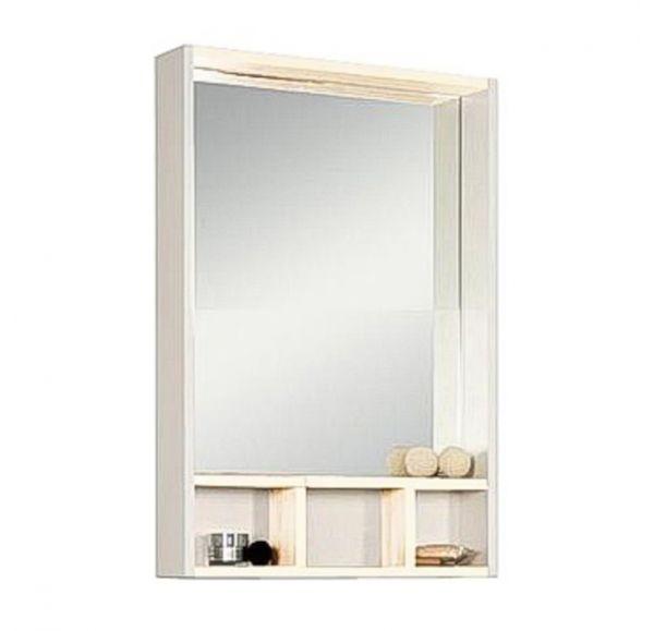 Йорк 60 зеркало-шкаф 1A170102YOAY0 белый/выбеленное дерево