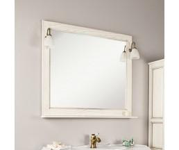 Жерона 105 зеркало белое золото 1A158802GEM40+2 свет Isabel