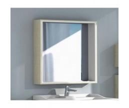 Фабиа 80 зеркало-шкаф 1A166902FBPD0 ваниль