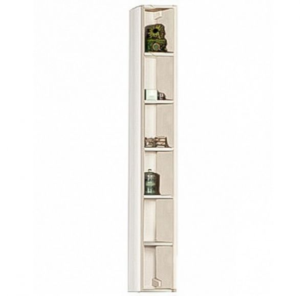 Йорк шкаф-колонна открытая  1A171103YOB50 выбеленное дерево