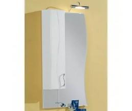 Дионис зеркало-шкаф со светильников левый 1A0060L1DS01L