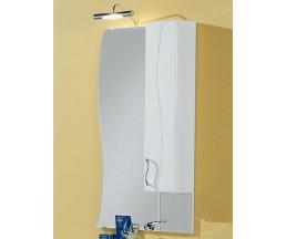 Дионис зеркало-шкаф со светильником правый 1A0060L1DS01R