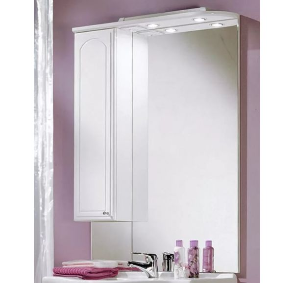 Майами 75 зеркало-шкаф левый 1A047502MM01L