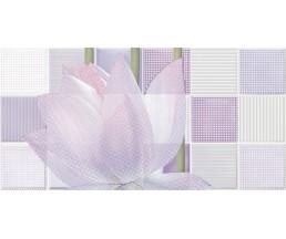 Лотос 1 Декор 24.9x50