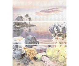 Variete lila harmony Панно(3 плитки) l50.5x60.3 n028463