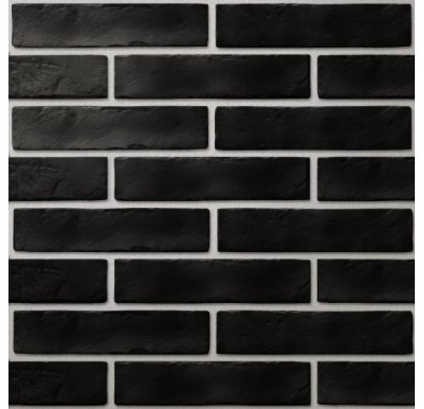 Brickstyle Strand плитка облиц черный  6*25