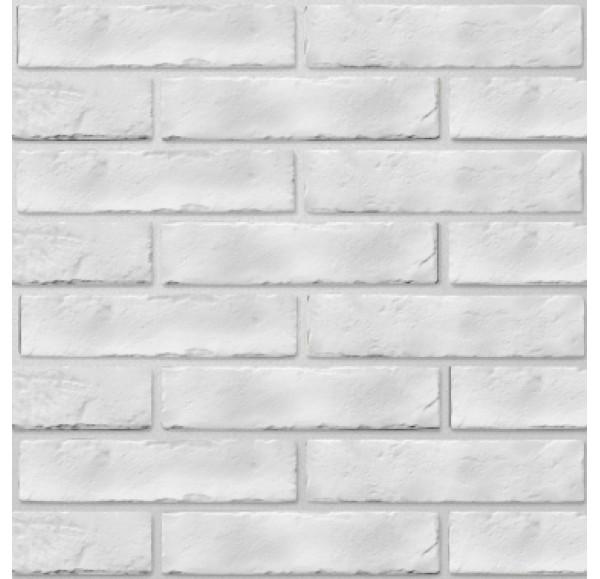 Brickstyle Strand плитка облиц белый  6*25