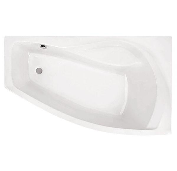Ванна акриловая асим. белая 160*95 П Майорка XL SANTEK 1WH111990