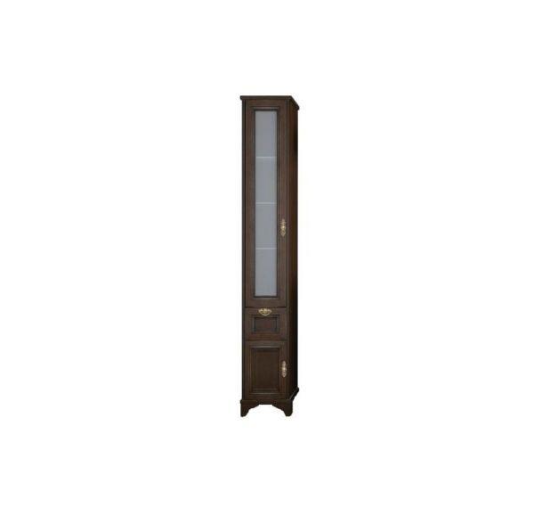 Идель шкаф-колонна левый дуб шоколадный 1A198003IDM8L