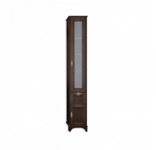 Идель шкаф-колонна правый дуб шоколадный 1A198003IDM8R