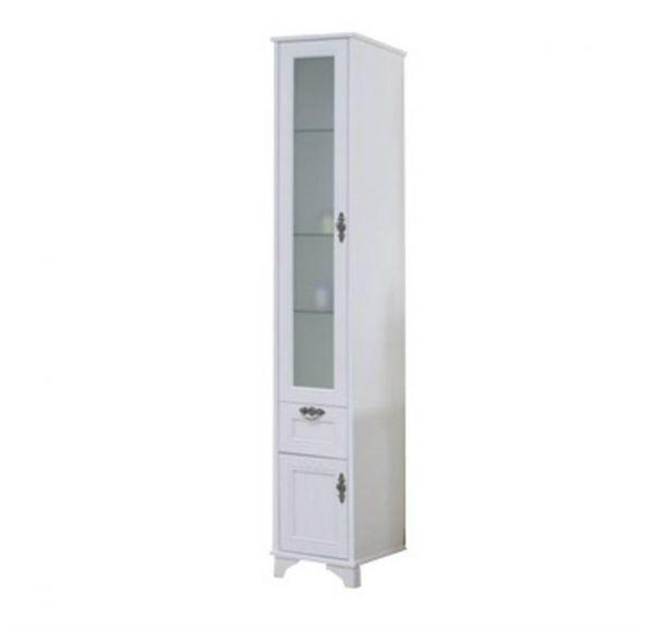 Идель шкаф-колонна левый дуб белый 1A198003IDM7L