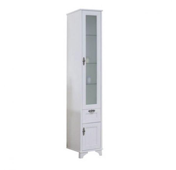 Идель шкаф-колонна правый дуб белый 1A198003IDM7R