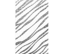 Кайман Декор черный 25*40