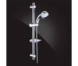 Shower Rail Гарнитур душевой с мыльницей, шлангом и лейкой SB-03S