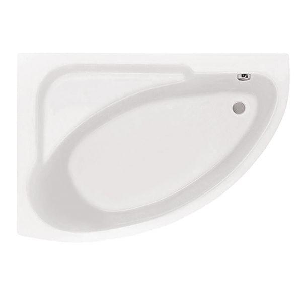 Ванна акриловая асим. белая 150*100 Л Гоа SANTEK 1WH112033