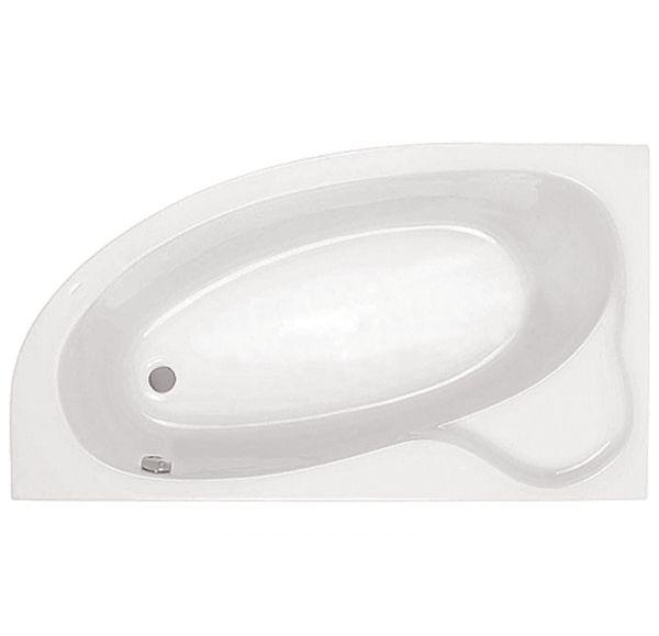 Ванна акриловая асим. белая 170*110 Л Эдера SANTEK 1WH111995