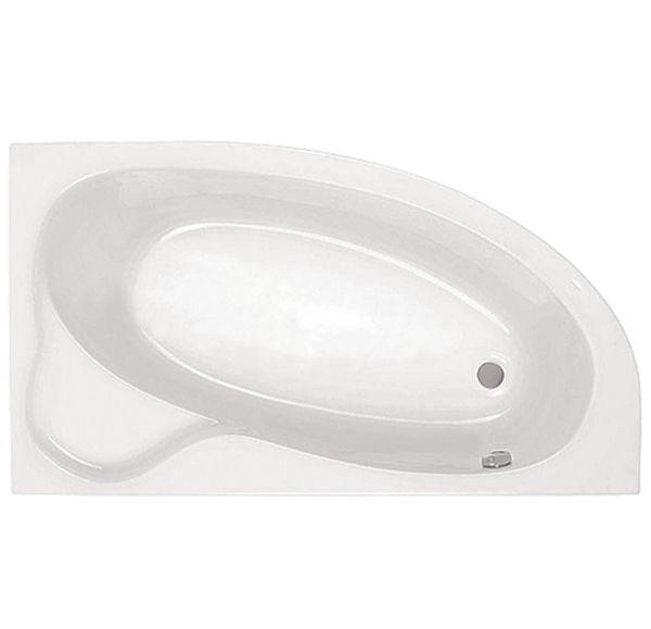 Ванна акриловая асим. белая 170*110 П Эдера SANTEK 1WH111994