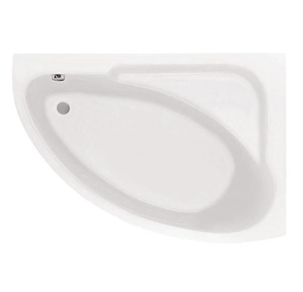 Ванна акриловая асим. белая 150*100 П Гоа SANTEK 1WH112032