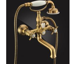Praktic Bronze Смеситель для ванны двухвентильный с д/к 2322660-Bronze