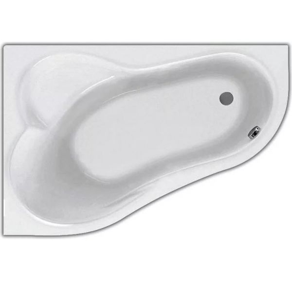 Ванна акриловая асим. белая 160*100 Л Ибица XL SANTEK 1WH112036