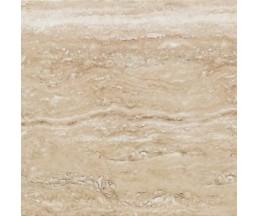 Ривьера настенная 500х249  волна коричневая ПО9РВ404