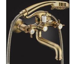 Praktic Bronze Смеситель для ванны двухвентильный с д/к 2312660-Bronze
