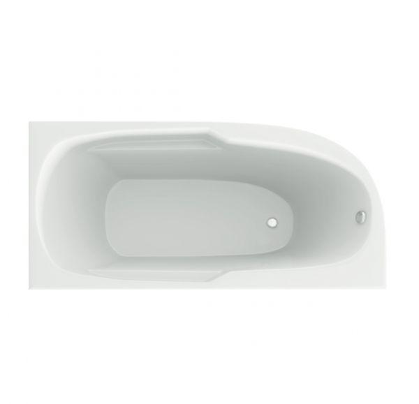 Ванна акриловая 150*80 белая Небуг MIRSANT