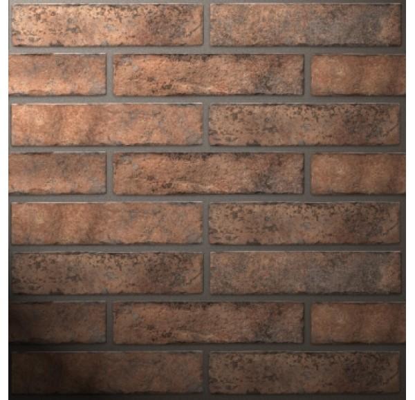 Brickstyle Westminster плитка облиц оранжевый  6*25