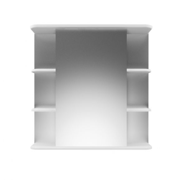 Глория 70/2 зеркало-шкаф 70*70 правый